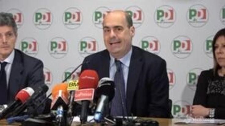"""Zingaretti: """"Il governo non esiste, bisogna reagire"""""""