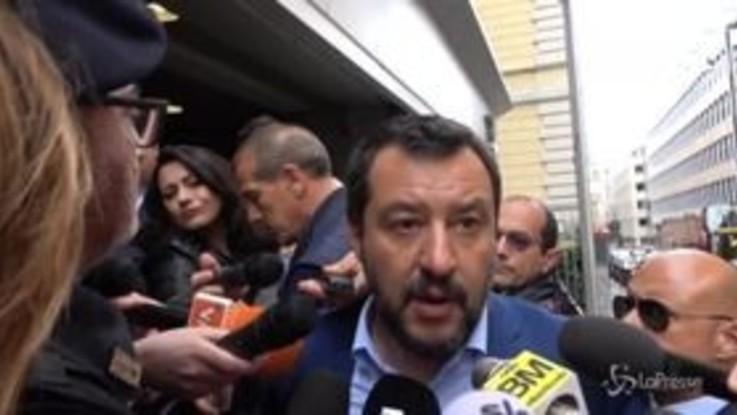 """Torre Maura, Salvini: """"Obiettivo zero campi rom, ma sbagliato spostare decine di persone dalla mattina alla sera"""""""