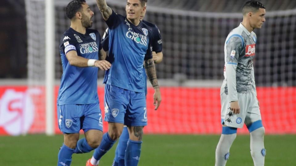 Di Lorenzo esulta dopo il gol del 2-1 ©