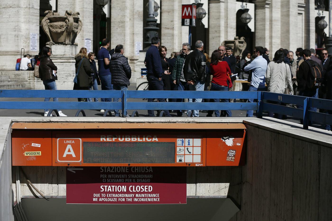 Roma, chiusa un'altra stazione della Metro A. E' la quarta