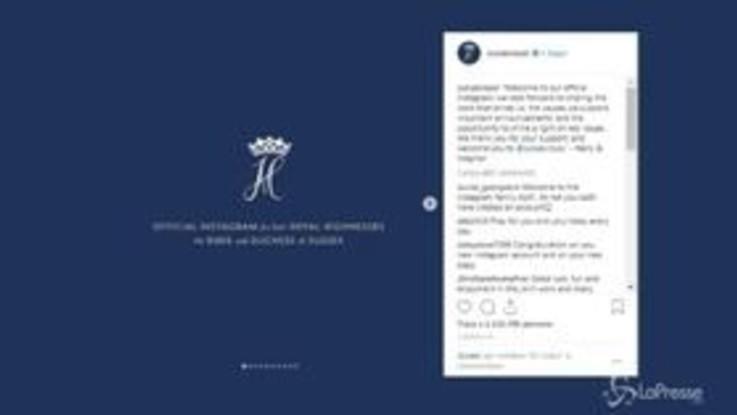 Sussexroyal, Harry e Meghan sbarcano su Instagram