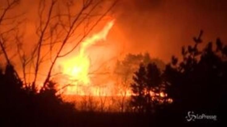 Devastante incendio in Corea del Sud, oltre 3 mila le persone evacuate
