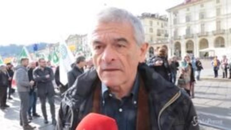 """Torino, Chiamparino """"In piazza per tenere alta attenzione su Tav"""""""