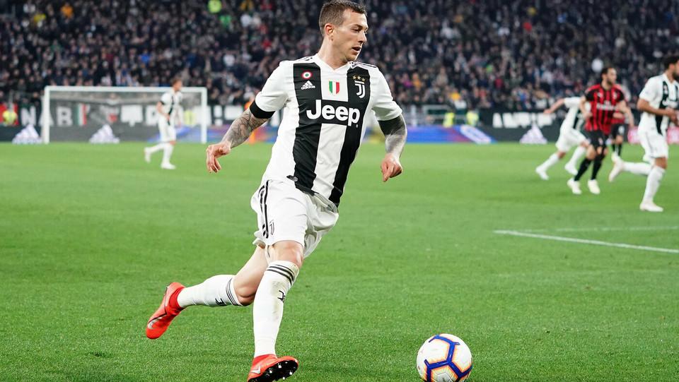Azione di Bernardeschi (Juventus) ©