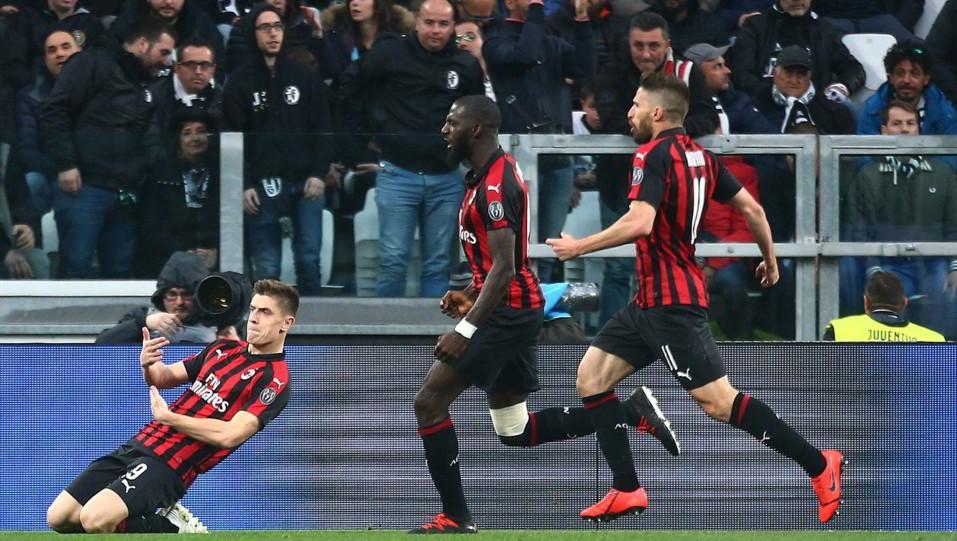 Piatek esulta dopo il gol dello 0-1 ©