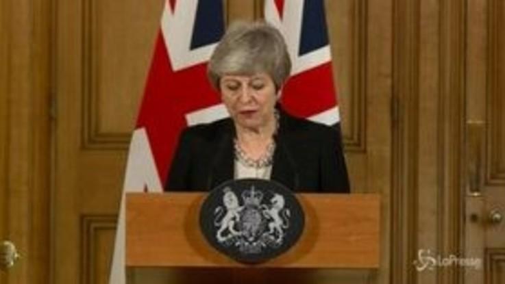 """May: """"Senza accordo a rischio la Brexit"""""""