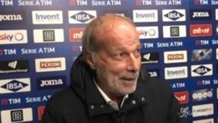 """Sampdoria-Roma, Sabatini show: """"Mi avete inc***to una partita"""""""