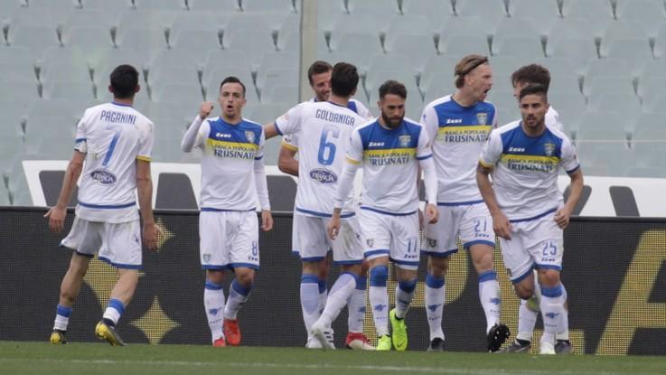 Serie A, Ciofani stende la Fiorentina nel finale: il Frosinone torna a sperare