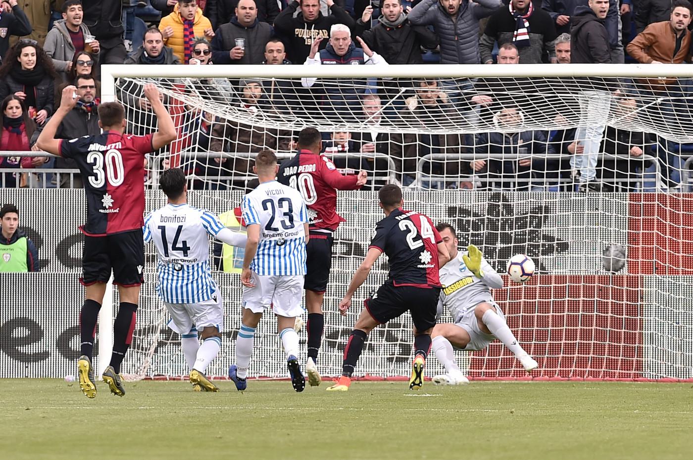 Serie A, Cagliari-Spal 2-1   Il fotoracconto