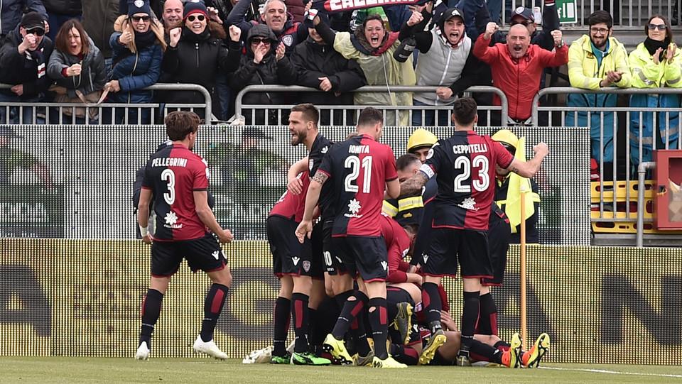 L'esultanza di Paolo Farago dopo il gol ©