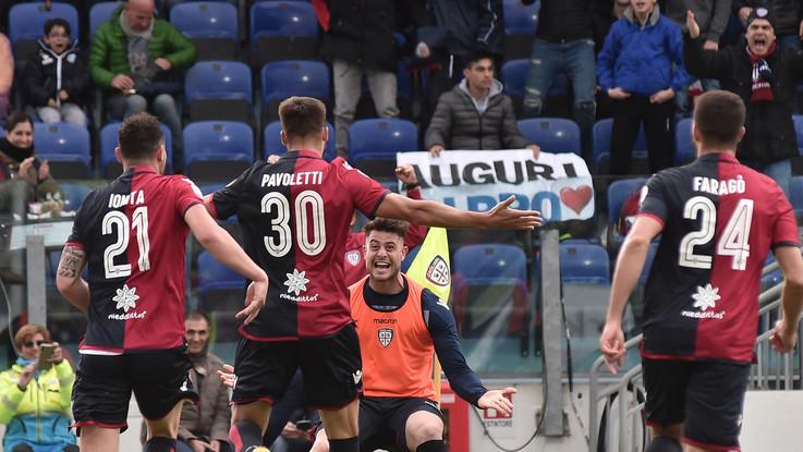 Serie A, Cagliari ferma la corsa della Spal: decide Pavoletti, emiliani ko 2-1