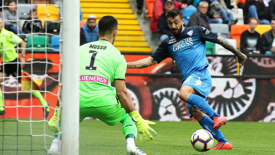 Gol di Caputo (Empoli) ©