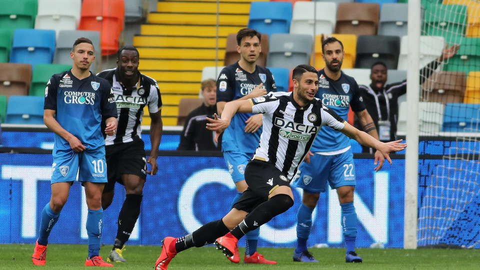 È il turno di Mandragora: anche lui segna per l'Udinese ©