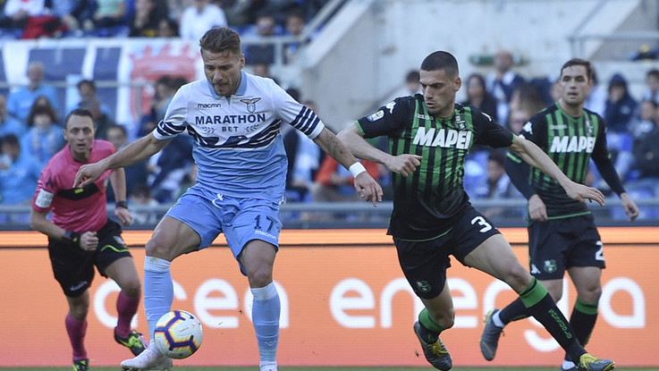 Serie A, Lazio-Sassuolo 2-2 | Il fotoracconto