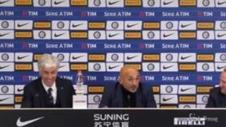 Spalletti-Gasperini, staffetta in conferenza stampa