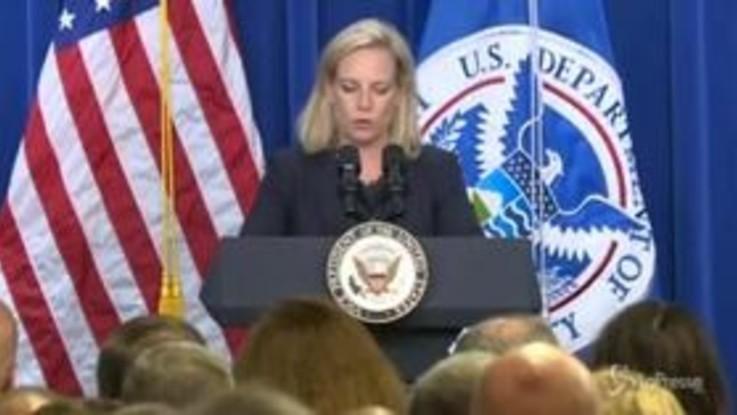 Usa, Trump licenzia ministra dell'Interno Nielsen