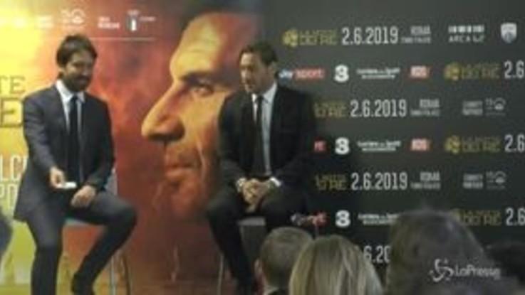 """Totti: """"Dalla tribuna è tutto più facile, adesso capisco quando mi criticavano"""""""
