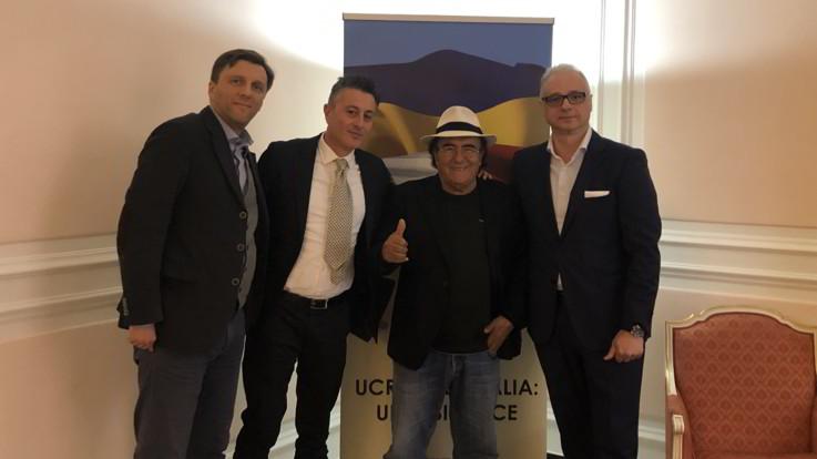 """Ucraina, Al Bano incontra ambasciatore in Italia: """"Risolvere il problema della blacklist"""""""