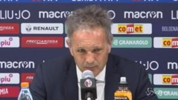 """Bologna, Mihajlovic: """"Tanti rigori? Brava la squadra che porta uomini in area"""""""
