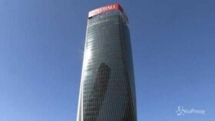Milano, inaugurata la Torre Generali a CityLife