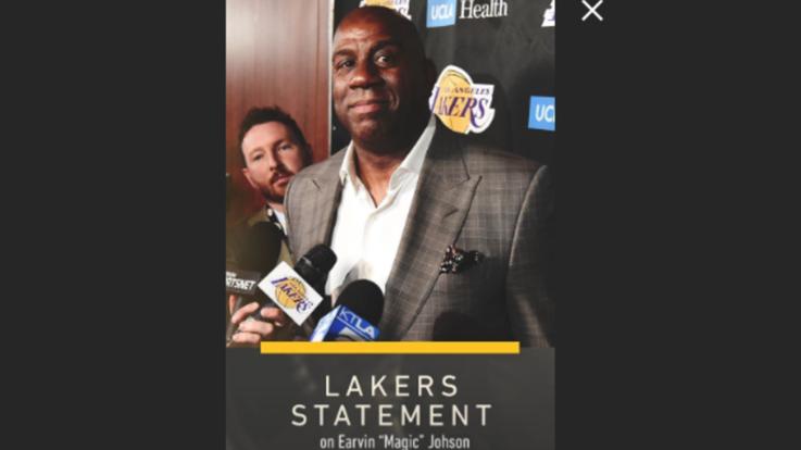 Nba, Magic Johnson lascia la presidenza dei Lakers. Nowitzki e Wade dicono addio