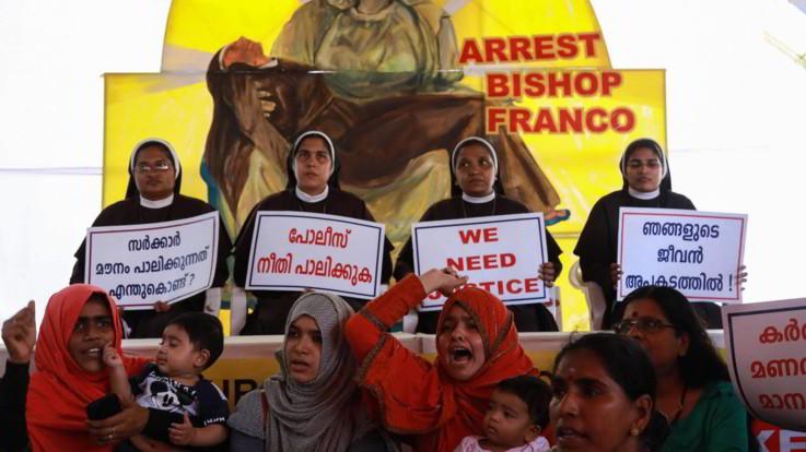 India, vescovo denunciato per aver stuprato una suora: rischia l'ergastolo