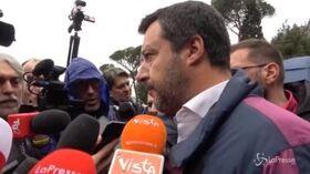 """Def, Salvini: """"Falso che Tria ha posto aumento dell'Iva come condizione per la Flat tax"""""""