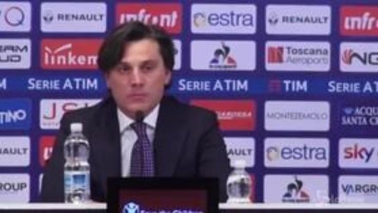 """Fiorentina, Montella: """"Guardare avanti con forza e convinzione"""""""