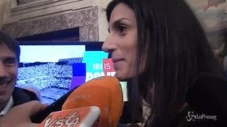 """Lega in Campidoglio? Raggi: """"Salvini magna tranquillo"""""""