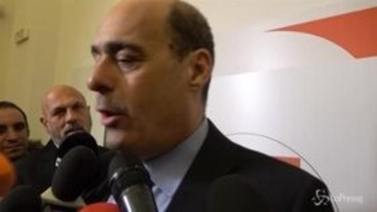 """Europee, Zingaretti presenta le liste Pd: """"Un partito più aperto e più unitario"""""""