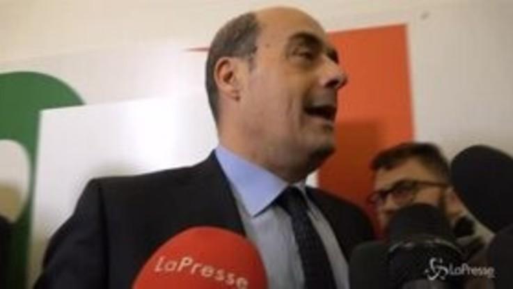 """Zingaretti: """"Def è ammissione di colpa del governo"""""""