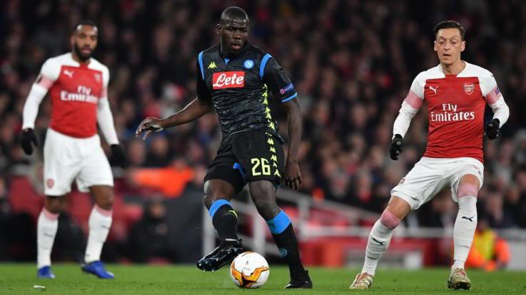 Insulto razzista a Koulibaly: l'Arsenal apre un'indagine