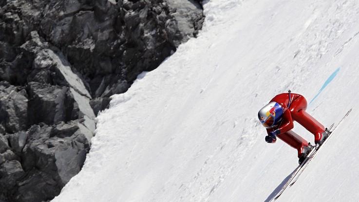 Velocità sugli sci, Simone Origone a un passo dalla Coppa del Mondo