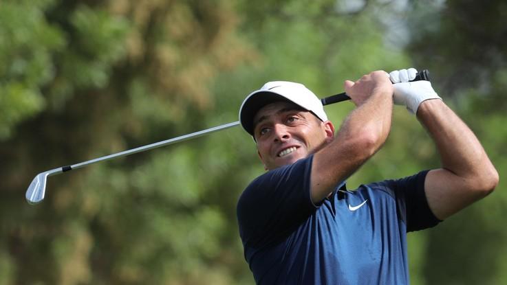Golf, Francesco Molinari è al comando dell'Augusta Masters