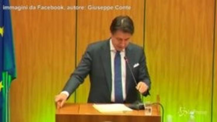 Carabiere ucciso a Foggia, Conte chiede un minuto di silenzio