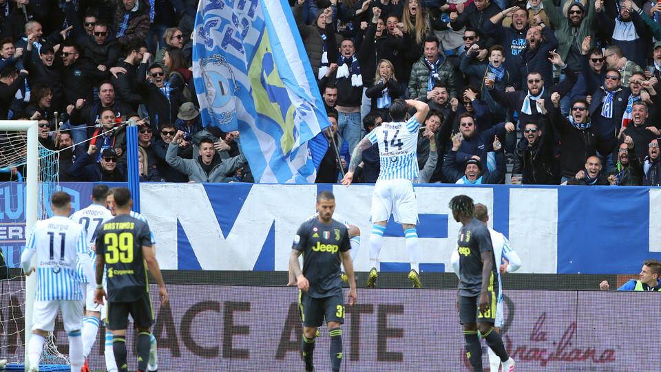 Bonifazi esulta dopo il gol del pareggio ©