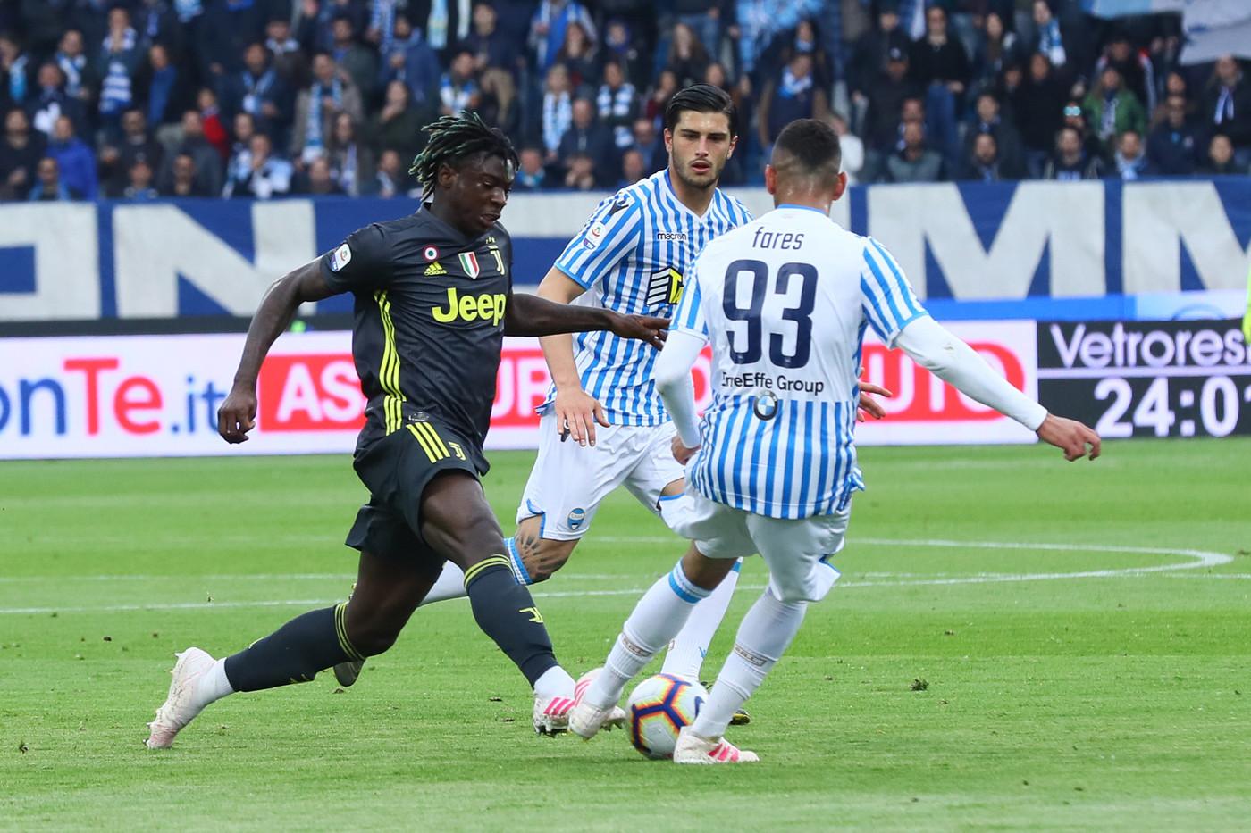 Serie A, Spal-Juventus 2-1   Il fotoracconto