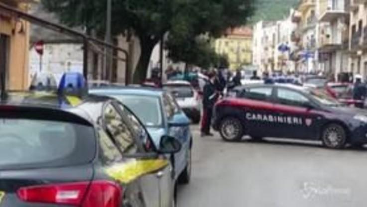 Foggia, ucciso un carabiniere: il luogo dell'agguato