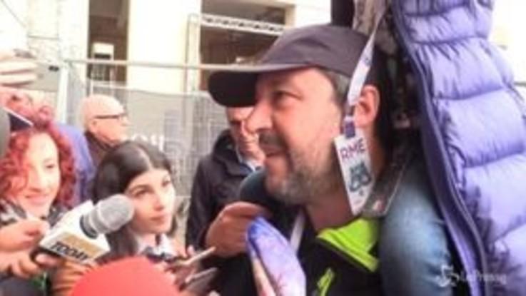 """Libia, Salvini: """"Non cambia nulla, in Italia si arriva solo con il permesso"""""""