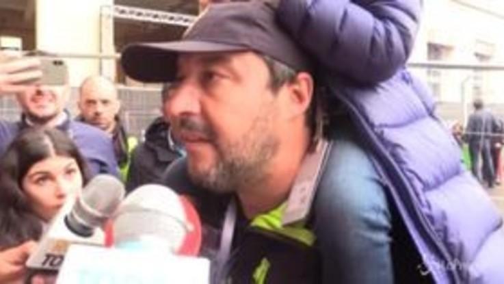 """Salvini: """"Lega partito dell'odio? Allora gli italiani son tutti matti"""""""