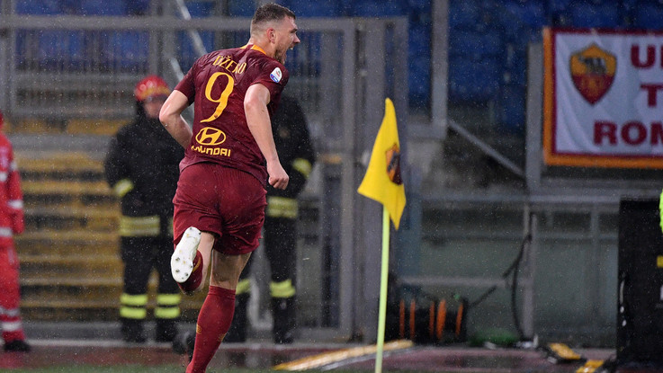 Serie A, Dzeko piega Udinese: Roma soffre ma vince all'Olimpico