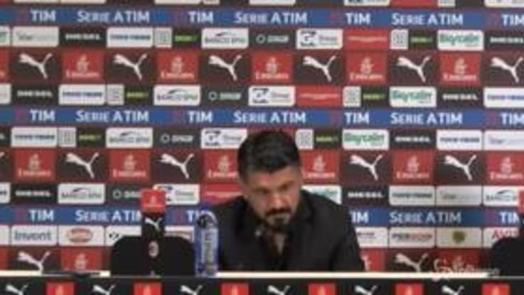 """Bakayoko e Kessie sotto curva con maglia di Acerbi, Gattuso: """"Chiedano scusa"""""""