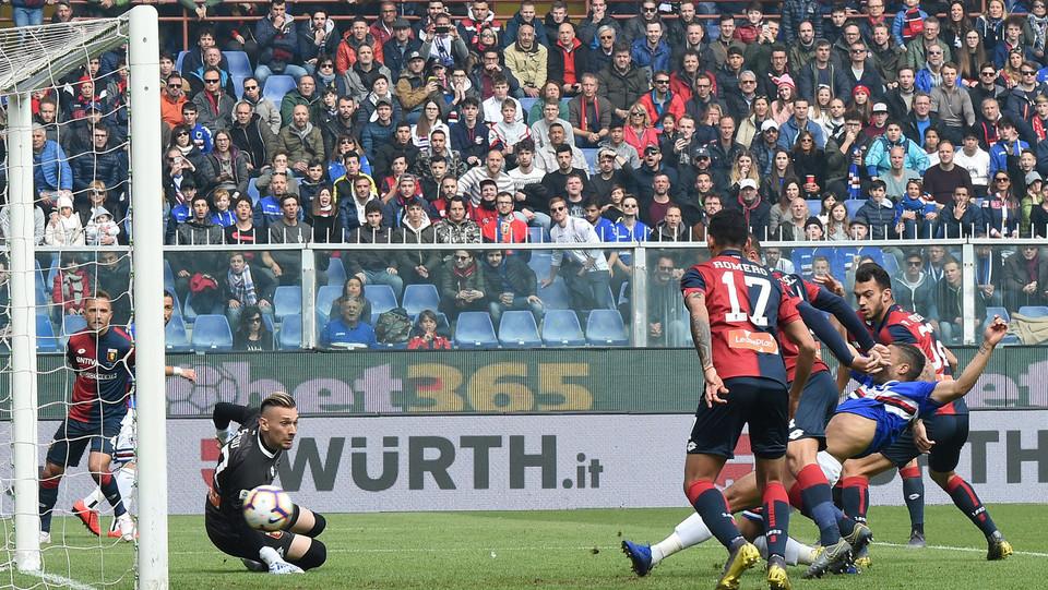 Deferl realizza il gol del 1-0 ©