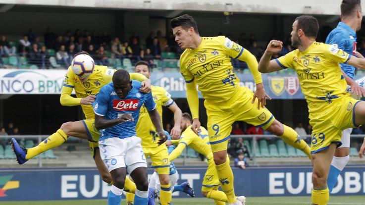 Serie A, Chievo-Napoli 1-3 | Il fotoracconto