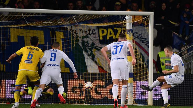 Il ritorno di Nainggolan, l'Inter passa a Frosinone (1-3)