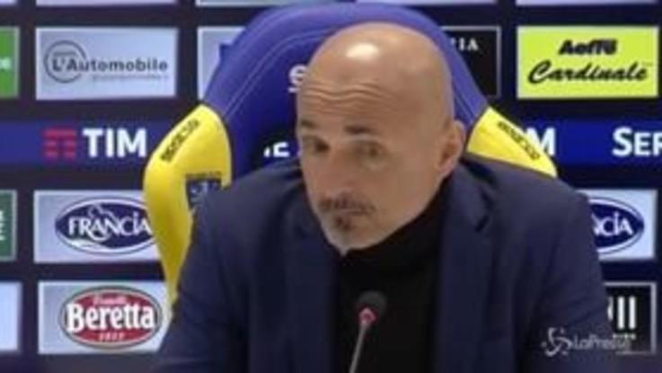 """Inter, Spalletti: """"Bisogna chiuderla, essere cattivi e mettere il timbro sulla gara"""""""