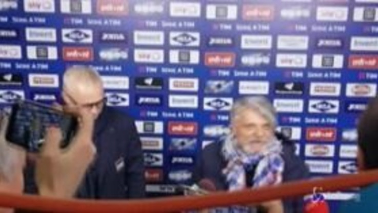 """Genoa-Samp, show di Ferrero: """"Mio ultimo derby? Attaccatevi al c..."""""""