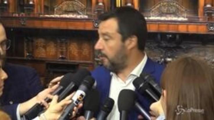 """Flat tax, pressing di Salvini: """"Va fatta subito"""""""