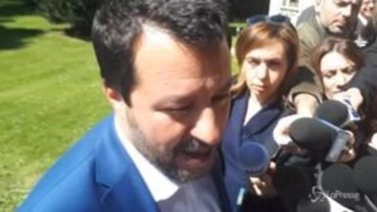 """Sea Watch, Salvini: """"Ai giudici dico che i porti restano chiusi"""""""