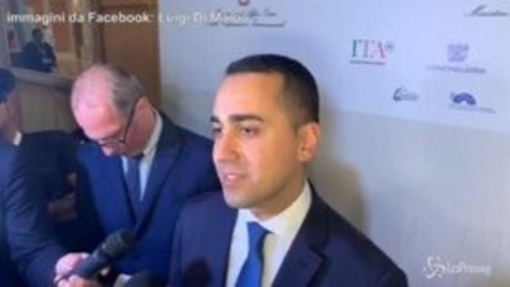 """Di Maio: """"La Lega parla di Roma quando è in difficoltà"""""""